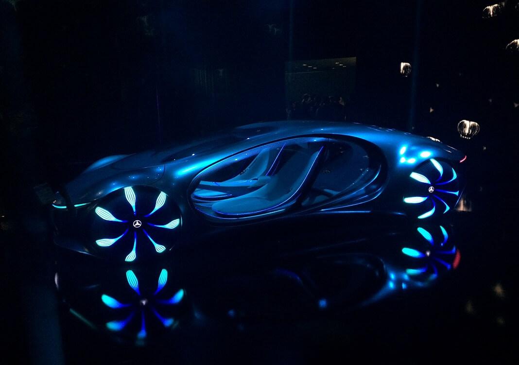CES 2020 avatar car tech future