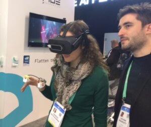 haptic glove VR