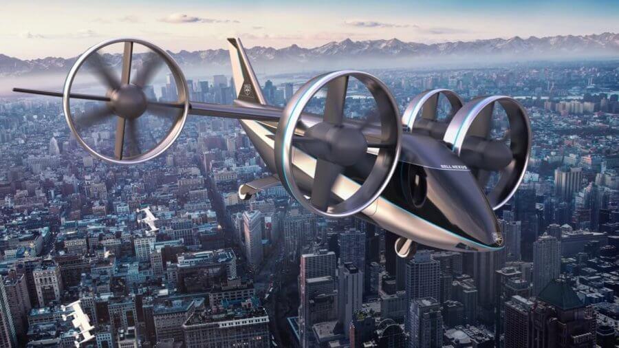 flying taxi bell electric aircraft evtol Nexus4EX