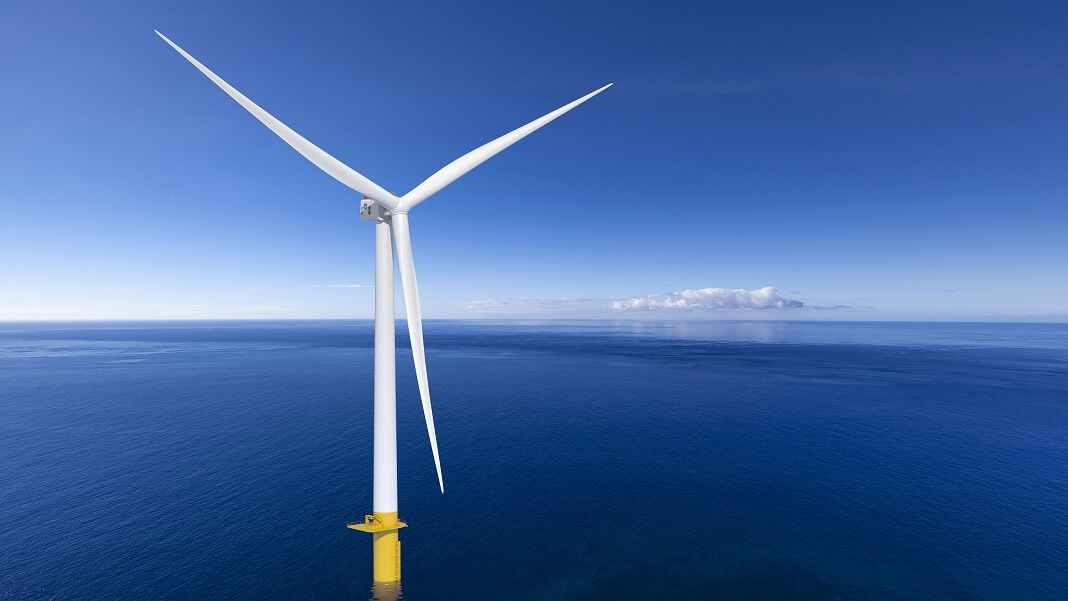 offshore wind farm Haliade-X turbine GE