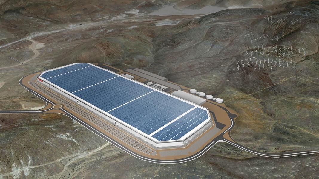 Tesla Gigafactory Elon Musk