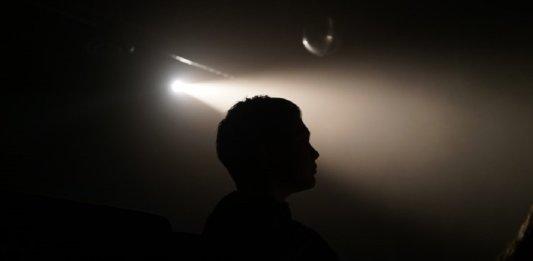 consciousness brain silhouette man light shadow