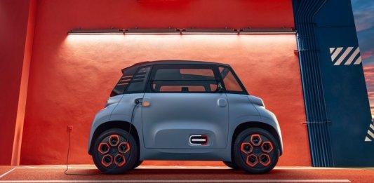 micromobility tiny electric car citroen ami