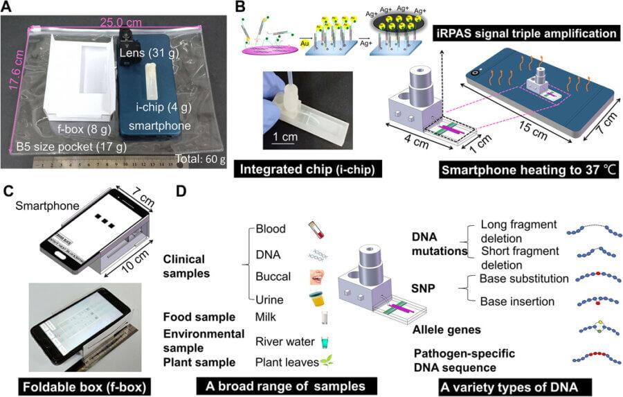 pocket DNA test smartphone