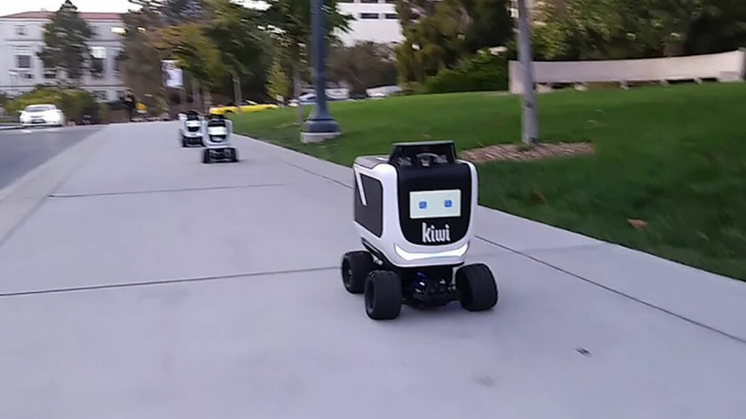 robot tech automation food delivery