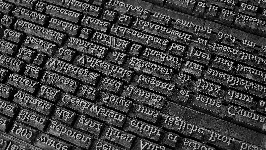 printing press writing text generator AI