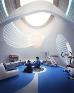 """O 3D Impresso Casas do Futuro """" Gigante de Ovos em Marte 3"""