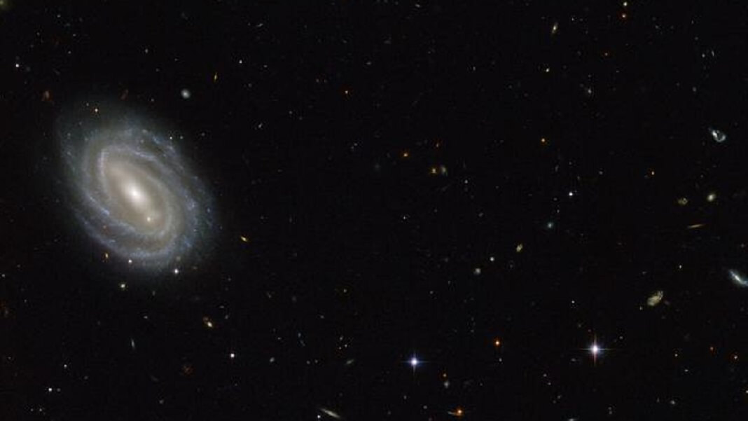 dark energy NASA galaxy space white stars