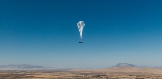 global internet Google Loon balloon