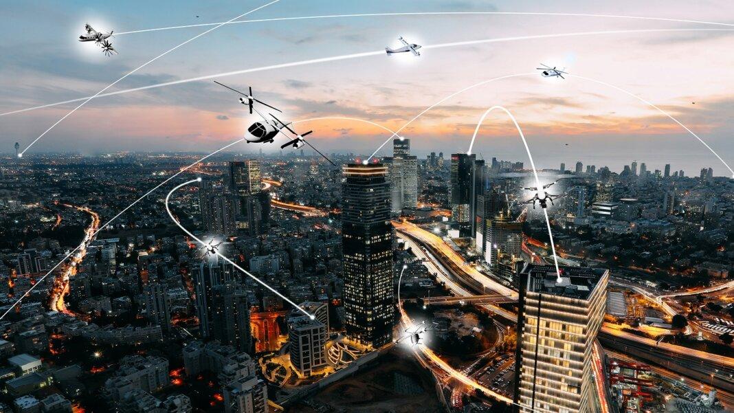 drones future cities UAVs