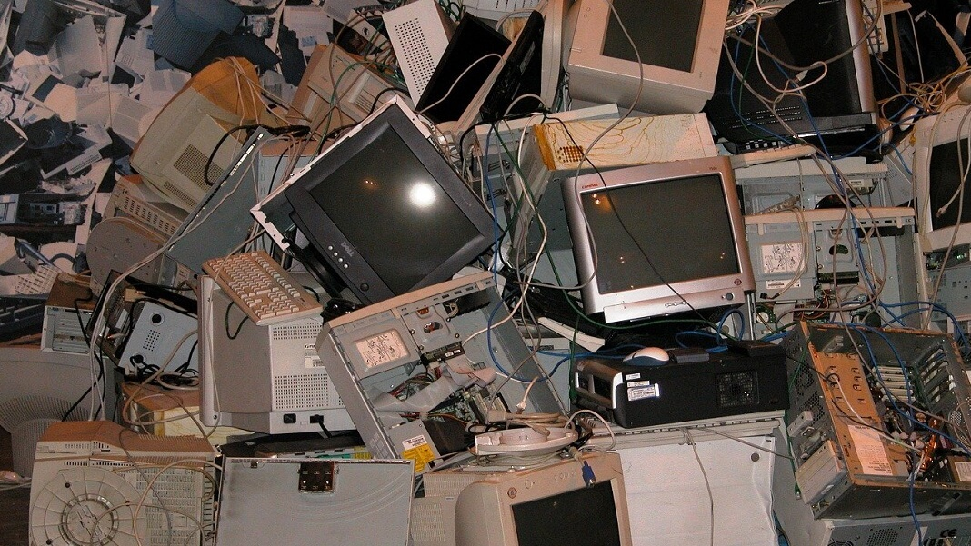 electronic waste computers monitors