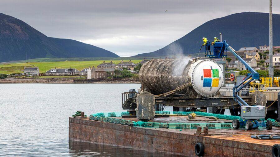 Microsoft underwater servers Natick