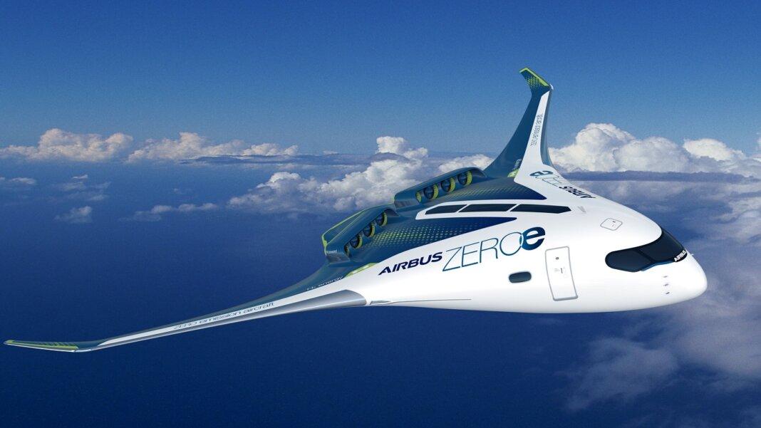Airbus Zero Emissions concept aircraft