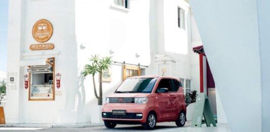 Wuling Hong Guang electric vehicle car