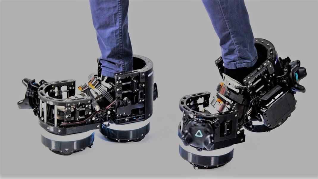 Ekto VR boots virtual reality