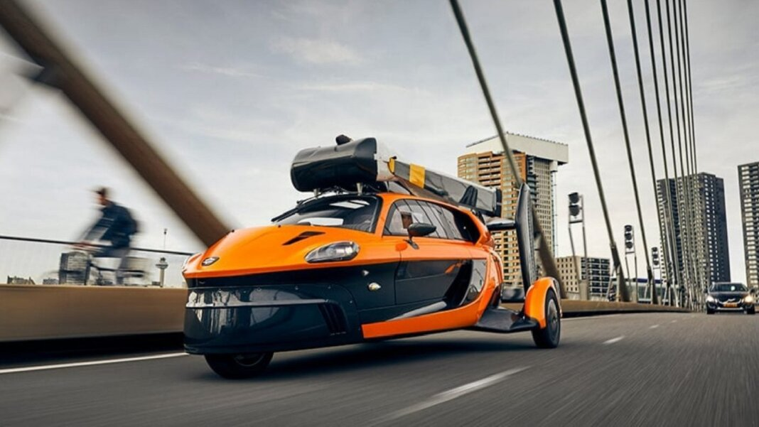 This Flying Car Costs 599k And It S Now Street Legal In Holland