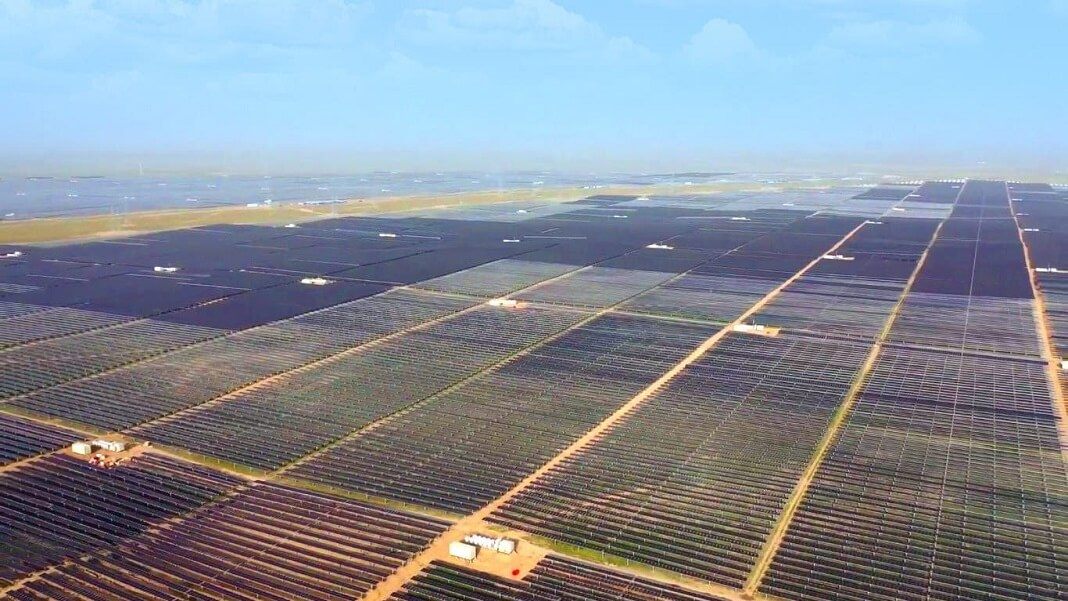 Sungrow solar power farm China