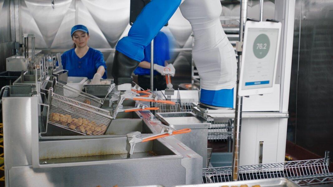 Flippy fast food robot