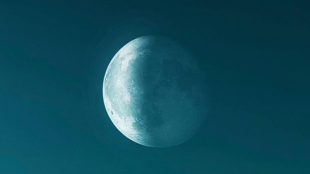 tech stories half moon green dark sky