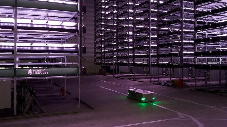 Europe's Biggest Vertical Farm Will Be Powered by Wind and Planted by Robots 2