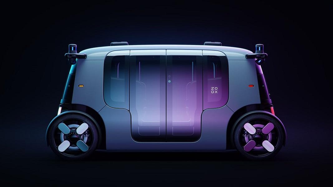 Zoox driverless taxi