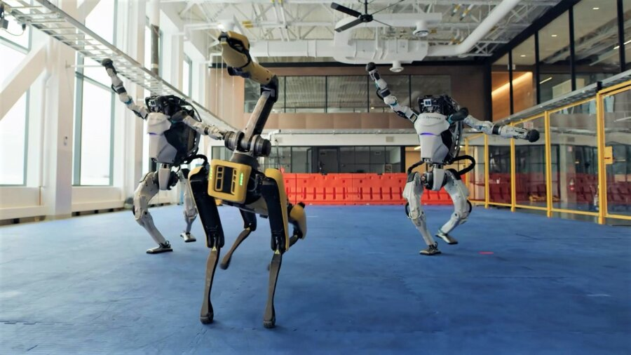 By Watching These Robots' Awesome Dance Moves 2