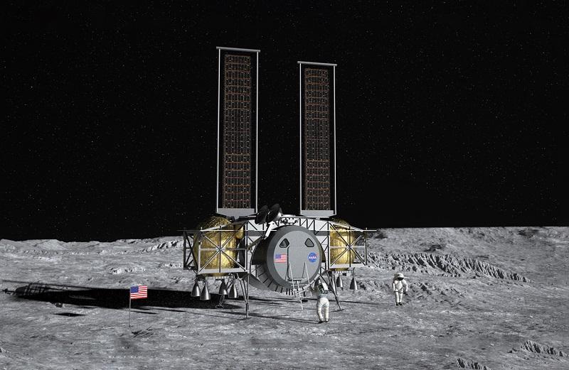 NASA moon mission Dynetics lander