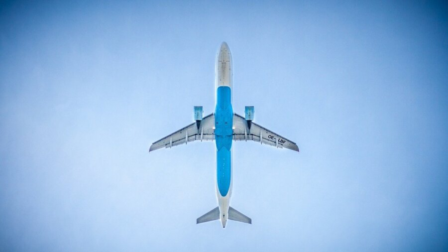 CO2 to jet fuel airplane
