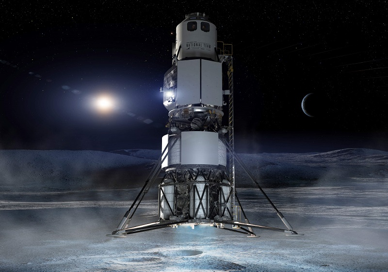 NASA moon lander