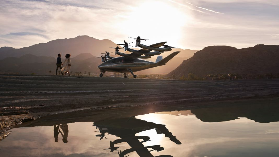 archer flying taxi
