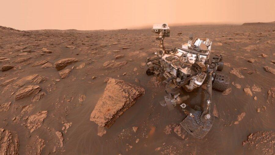 Mars rover space robots