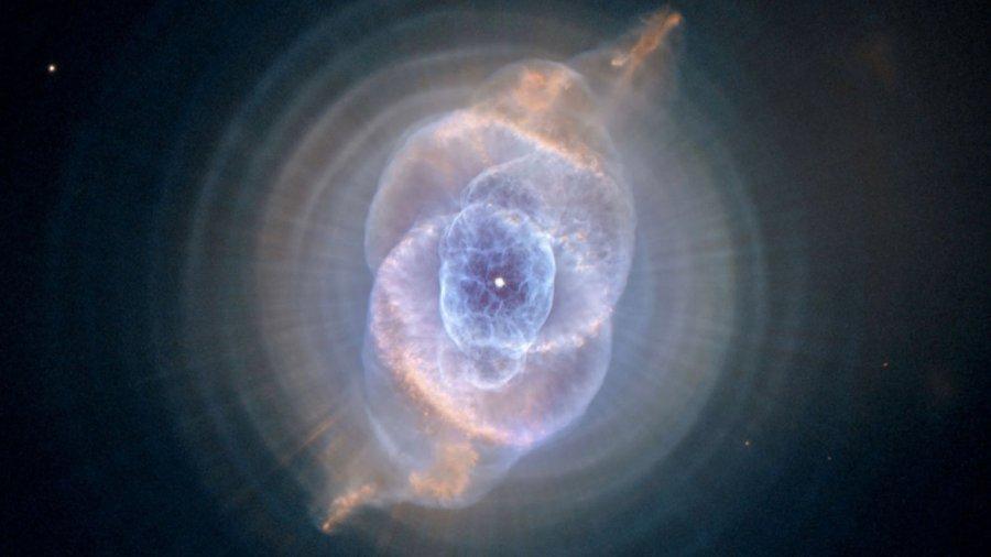 nasa sonification hubble cats eye nebula