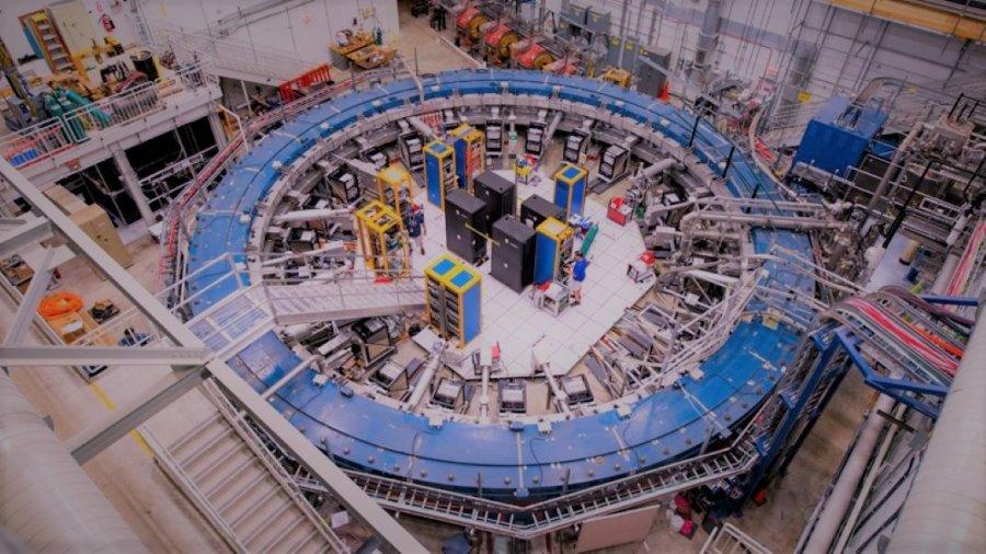 particle physics muon Fermilab