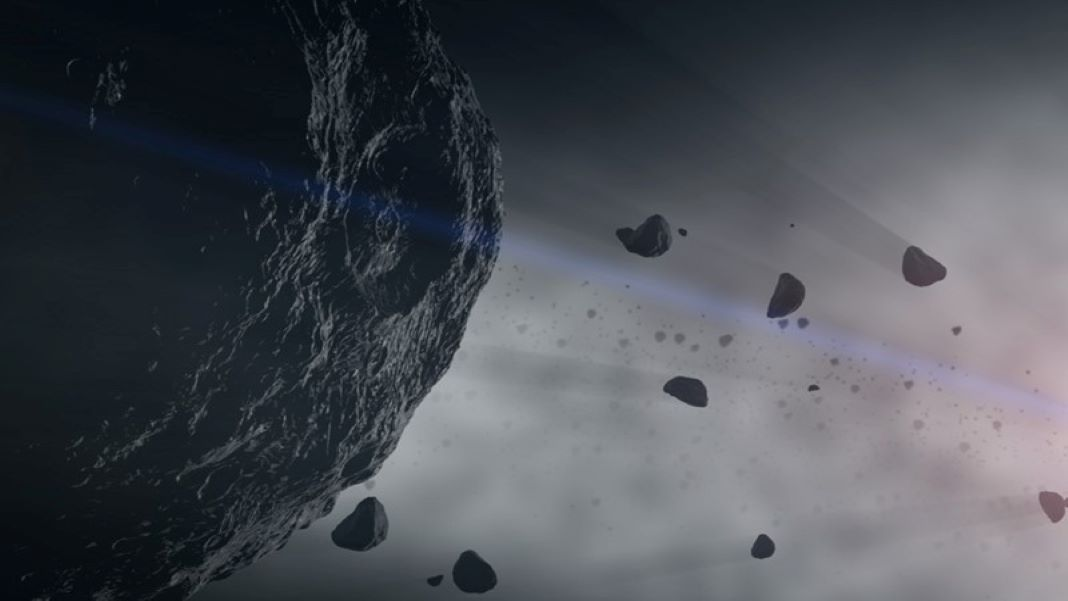 NASA asteroid strike simulation space