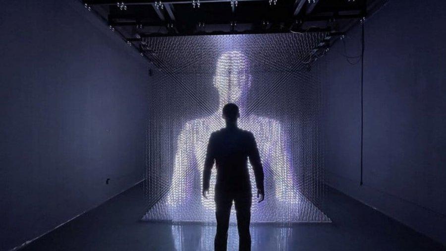 LED Pulse hologram