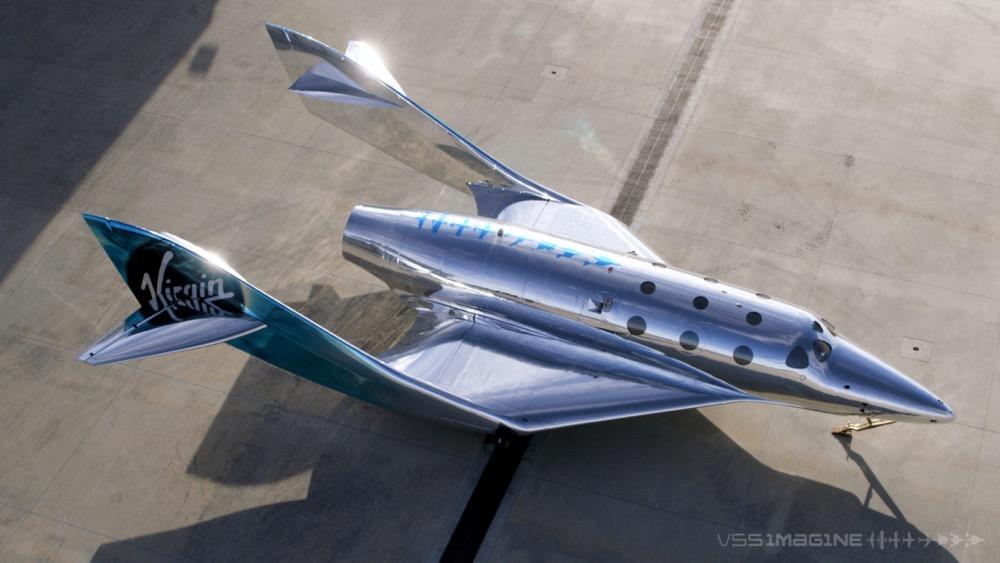 space tourism virgin galactic VSS Imagine