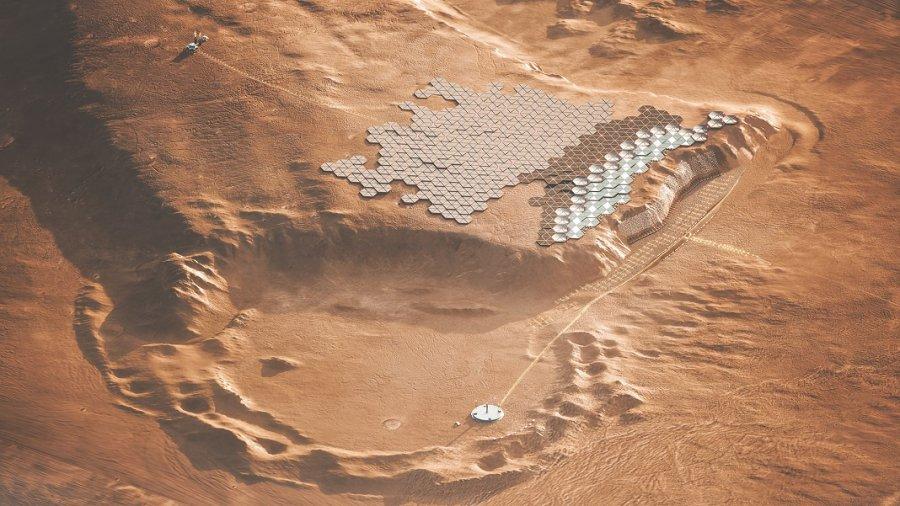 Nuwa Mars city
