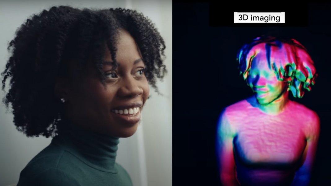 google starline hologram 3d video conferencing tool