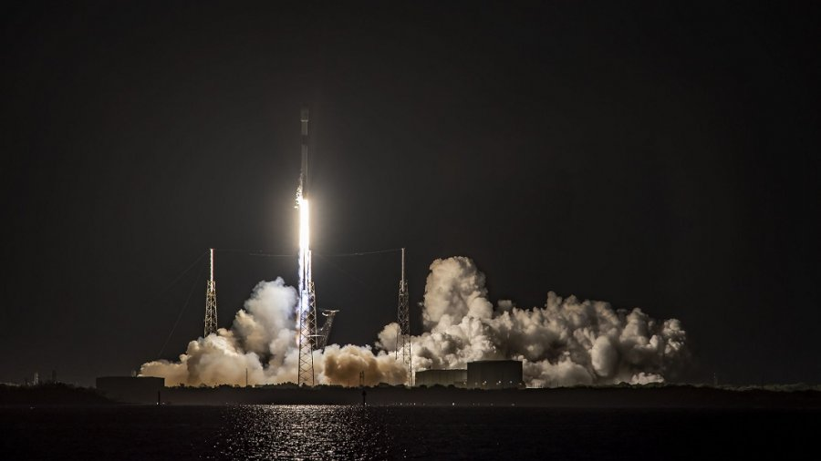 SpaceX Falcon 9 rocket space