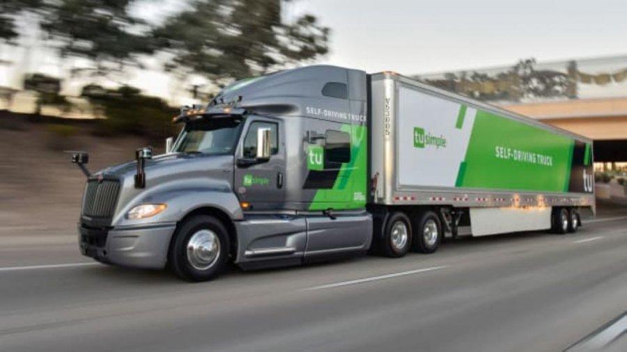 driverless truck self-driving