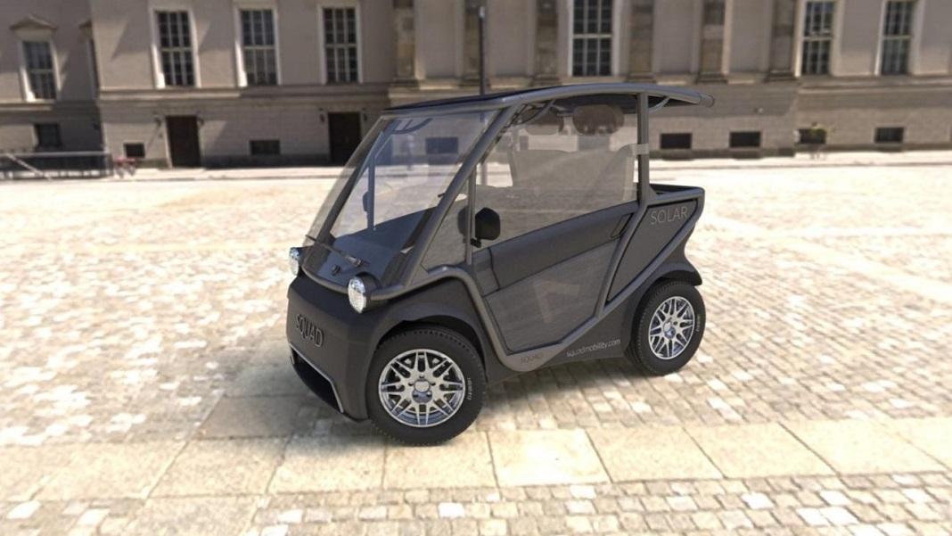 Squad Solar City Cars full doors italy.