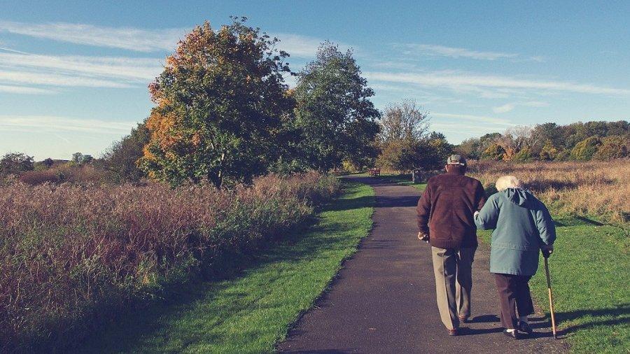 aging anti-aging longevity old couple