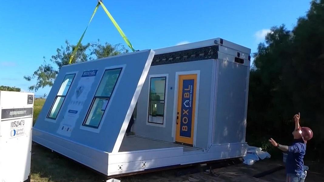 Boxabl folding house