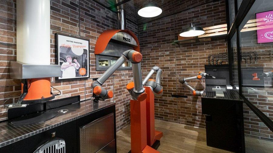 pizza robot Pazzi automation