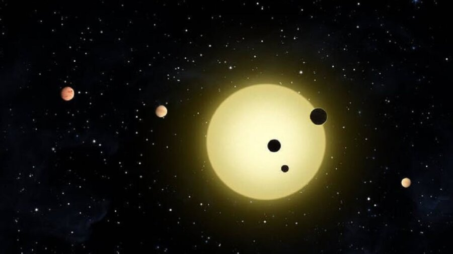 planets solar system space