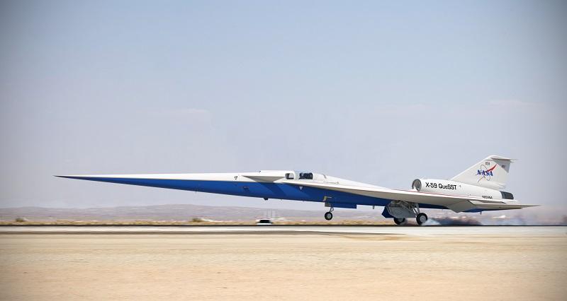 NASA X-59 supersonic jet