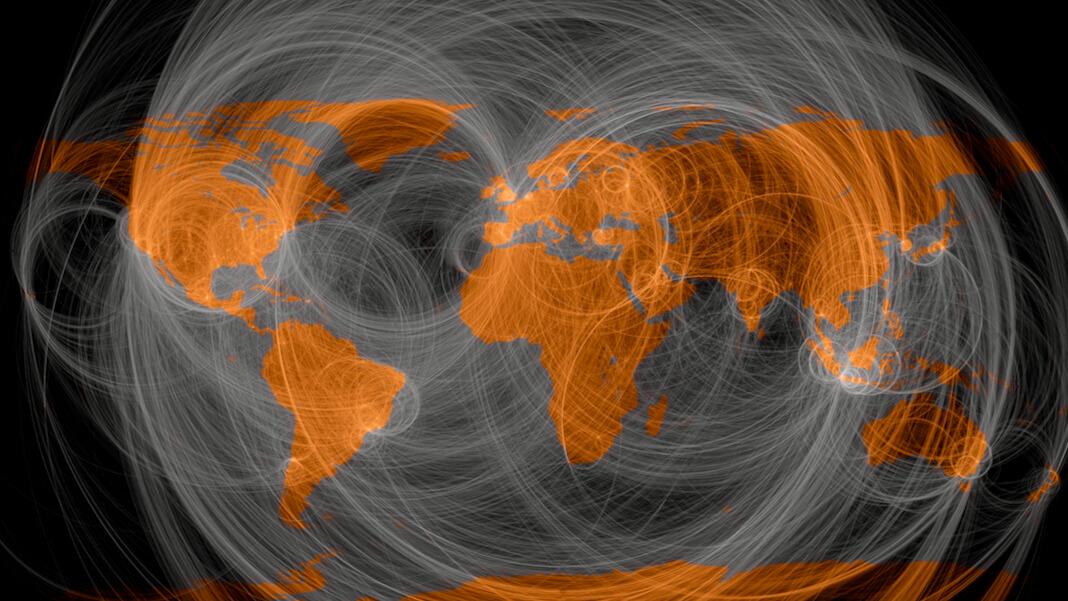 trust internet decentralized twitter users messaging world map